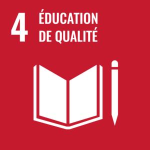 4, éducation de qualité